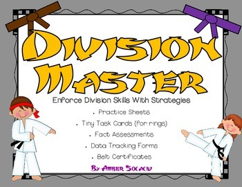 Division Masters for Common Core Operations and Algebraic