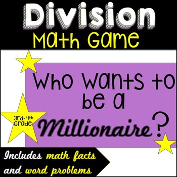 Division Game ~Who Wants To Be a Millionaire?~
