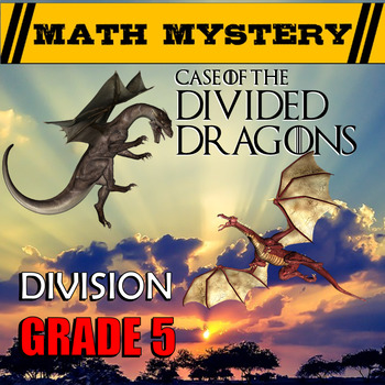 Division Math Mystery (Dividing with 2-digit Divisors & Po