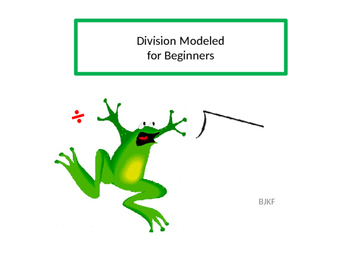 Division Modeled for Beginners