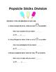 Division Popsicle Sticks