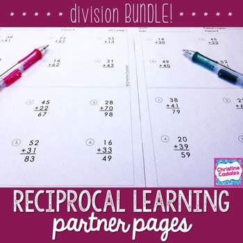 Division Practice Partner Pages- BUNDLE