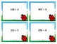 Division Scoot Activity/Task Cards - 3 digit by 1 digit -
