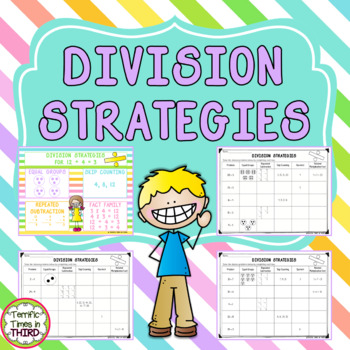 Division Strategies: Anchor Chart and Printables