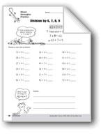 Division Strategies, Grades 4-6+: Mixed Strategies Practice