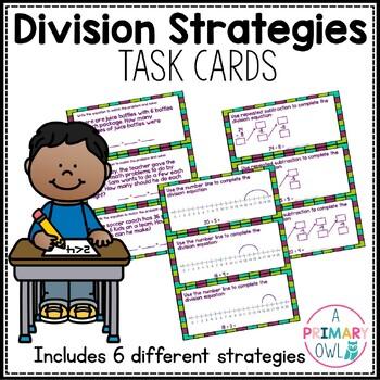 Division Strategies: Task Cards