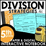 Division Strategies Lesson Activities