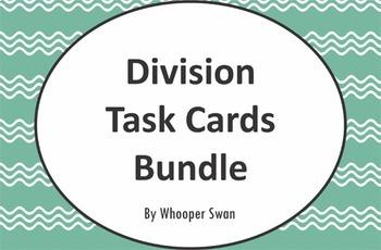 Division Task Cards Bundle