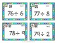 Division Task Cards with QR Codes:  Set C
