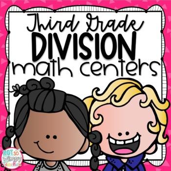 Division Third Grade Math Centers