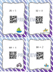 Division Two Digits by One Task Cards with QR Codes