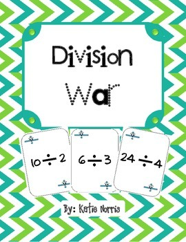 Division War-Great Math Center Game!