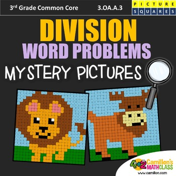 Division Word Problems Mystery Pictures