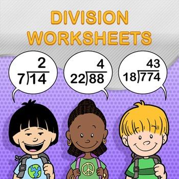Division Worksheet Generator Bundle Pack - Create Infinite