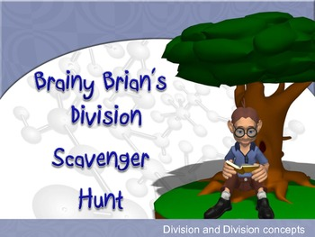 Division and Division Properties Scavenger Hunt Activity