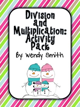 Division and Multiplication:  Activity Pack (Common Core Math)