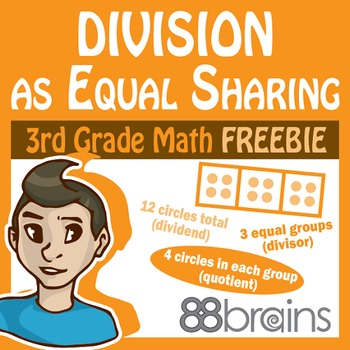 Division as Equal Sharing FREEBIE pgs. 27-30 (CCSS)