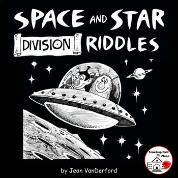 DIVISION PROBLEMS | SPACE and STAR Riddles | MATH | Color