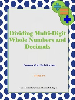 Division of Whole Numbers and Decimal Fractions Common Cor