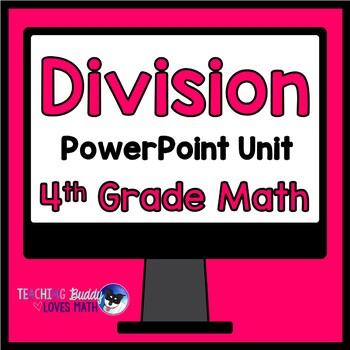 Division 4th Grade Math Unit Common Core Buddy {No Prep Lessons!}