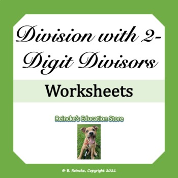 Division with 2-digit Divisors Practice Worksheet