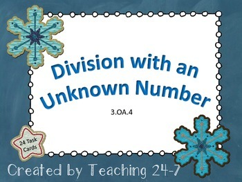 Division with an Unknown Number