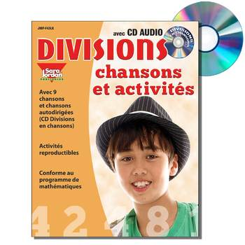 French Math Songs (Division) - Digital MP3 Album Download