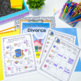 Divorce workbook (Family changes, coping skills, my family