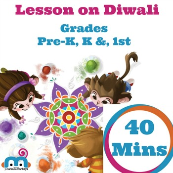 Diwali Free Lesson Plan 40 Mins with 1 Activity