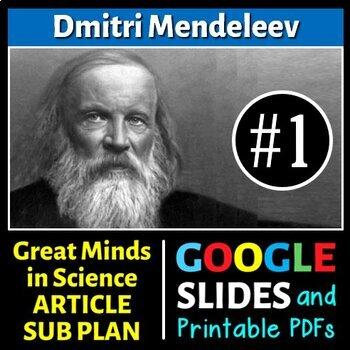 Dmitri Mendeleev - Great Minds in Science Article #1 - Sci