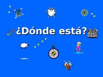 ¿Dónde está? Spanish Teaching Resources. PowerPoint: Point
