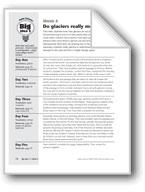 Do Glaciers Really Move?