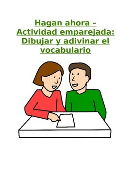 Do Now for All Levels - Piccionario: Partner Activity for