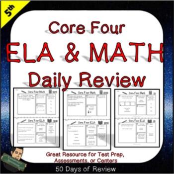 5th Grade ELA Morning Work and Math Morning Work
