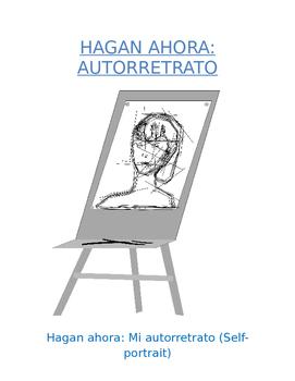 Do Now Sp1 or Sp2 - Mi autorretrato: Draw and Describe You