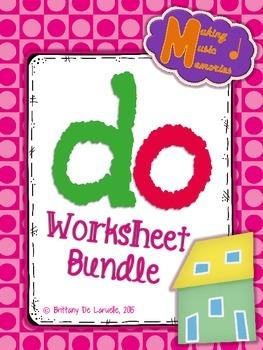 Do Worksheet Bundle