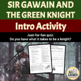 Do You Have What It Takes to Be a Knight? Quiz (Arthur tales)