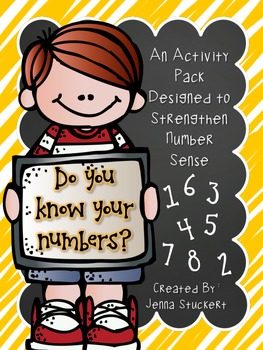 Do You Know Your Numbers? (An Activity Pack Designed to St