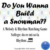Do You Wanna Build A Snowman d-r-m-s-l