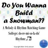 Do You Wanna Build A Snowman d-r-m-s-l-d'