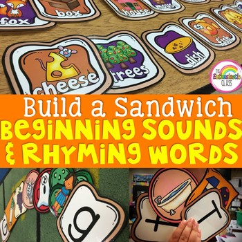 Rhyming Words & Beginning Sounds Literacy Centers:Do You W