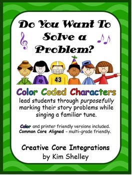 Do You Want To Solve A Problem? Song, Posters, Strategies