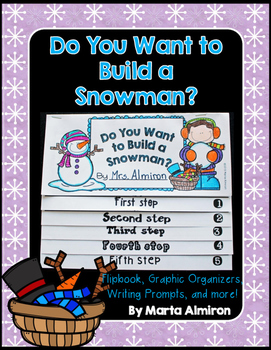 Do You Want to Build a Snowman? Flipbook and Activities