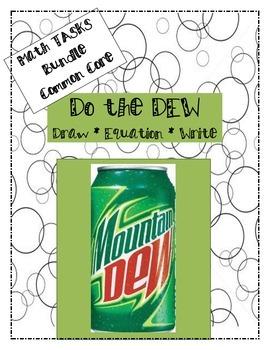 Do the DEW - 3rd Grade Math Tasks (Bundle)