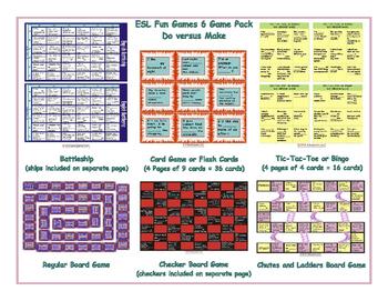 Do versus Make 6 Board Game Bundle