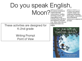 Do you speak English, Moon?