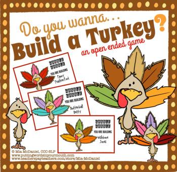 Do you wanna BUILD A TURKEY?