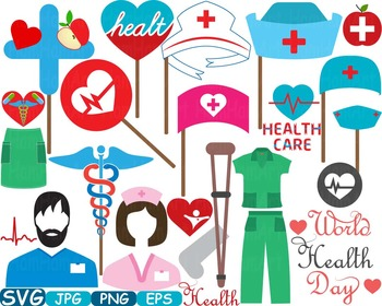 Doctor Medic Props Party Photo Booth Clip art medicine med