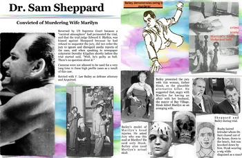 Doctor Sam Sheppard ~ FREE POSTER ~ Murder Trials ~ F. Lee Bailey