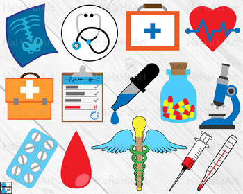 Doctor Signs - Cutting Files and Clip Art Digital Files cod1c